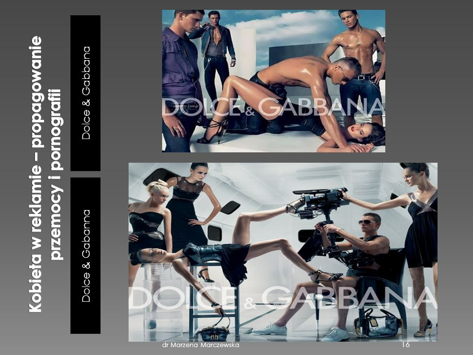 Dolce & Gabbana Dolce & Gabanna dr Marzena Marczewska 16