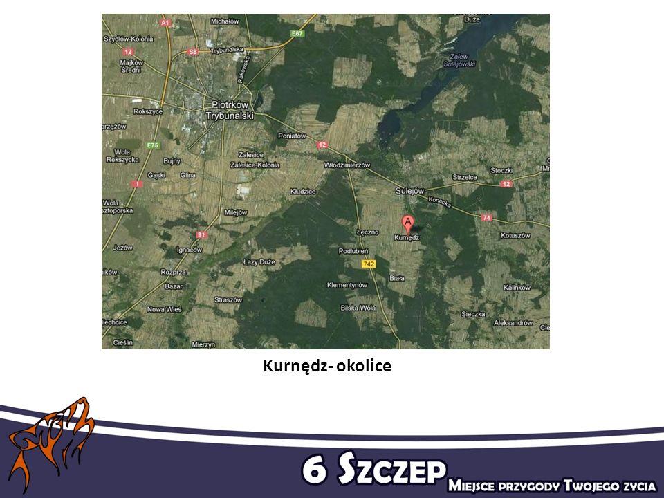 Kurnędz- okolice