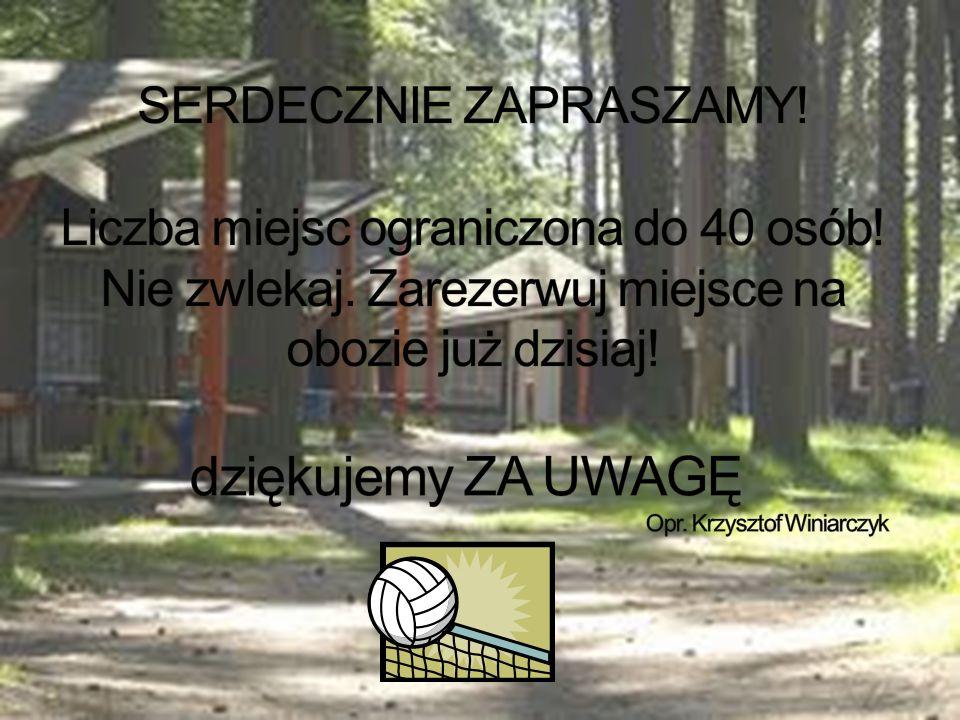 Transport dzieci i m ł odziezy na obóz w Sierakowie ś wiadczy firma MARCO.