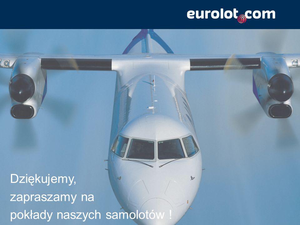Dziękujemy, zapraszamy na pokłady naszych samolotów !