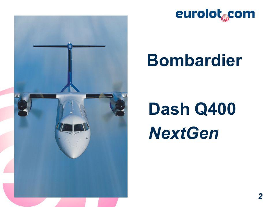 Bombardier Dash Q400 NextGen 2