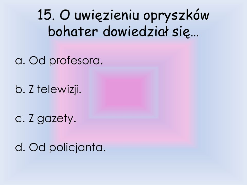 D. Starą skrzynkę.