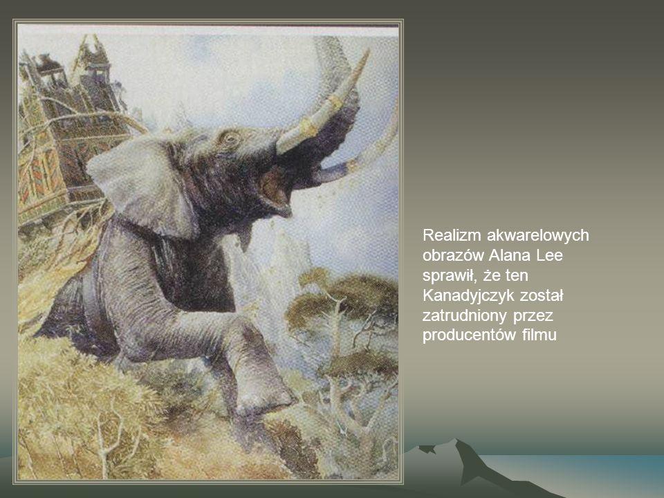 Realizm akwarelowych obrazów Alana Lee sprawił, że ten Kanadyjczyk został zatrudniony przez producentów filmu