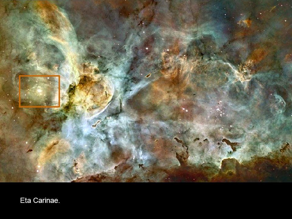 Wysoce niestabilna i skłonna do gwałtownych rozbłysków, bardzo masywna gwiazda niebawem zakończy swoje życie, wybuchając jako supernowa.