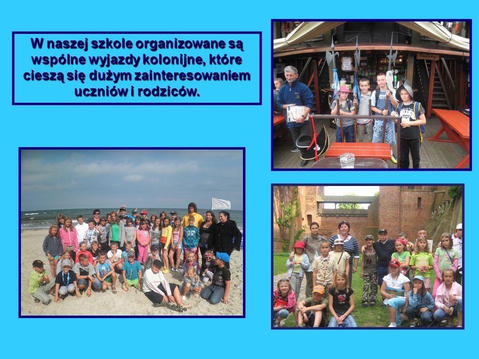 W naszej szkole organizowane są wspólne wyjazdy kolonijne, które cieszą się dużym zainteresowaniem uczniów i rodziców.