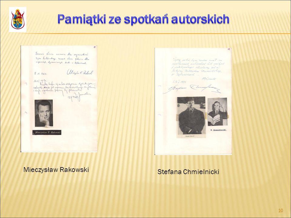 10 Mieczysław Rakowski Stefana Chmielnicki