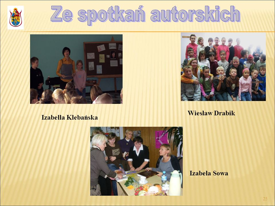 25 Wiesław Drabik Izabela Sowa Izabella Klebańska
