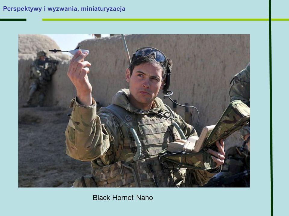 Perspektywy i wyzwania, miniaturyzacja Black Hornet Nano