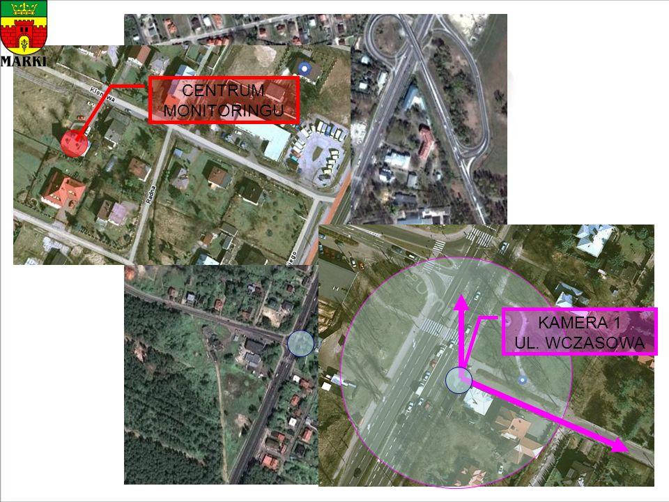 CENTRUM MONITORINGU KAMERA 1 UL. WCZASOWA
