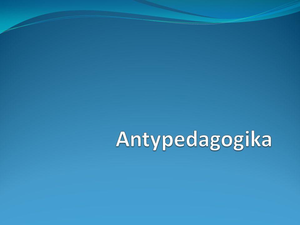 Geneza antypedagogiki Artykuł Antypsychiatria czy antypedagogika (H.