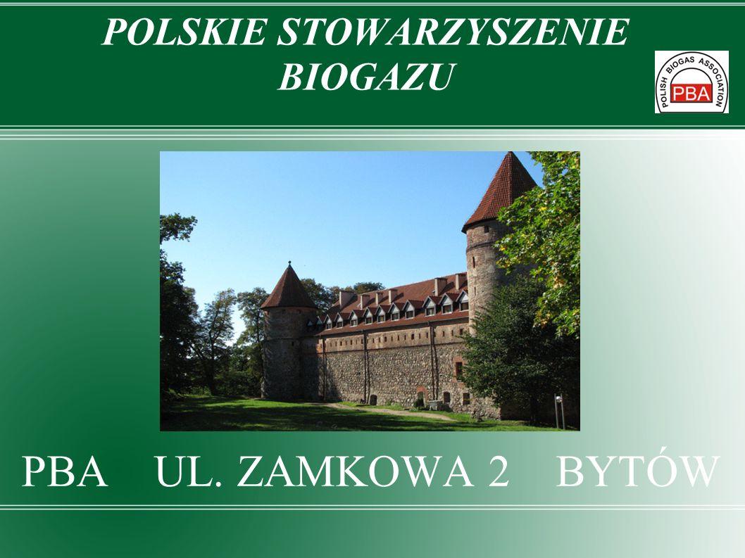 POLSKIE STOWARZYSZENIE BIOGAZU Założyciel Europejskiego Stowarzyszenia Biogazu Członek Niemieckiego Stowarzyszenia Biogazu Członek Pomorskiego Klastra 3x20