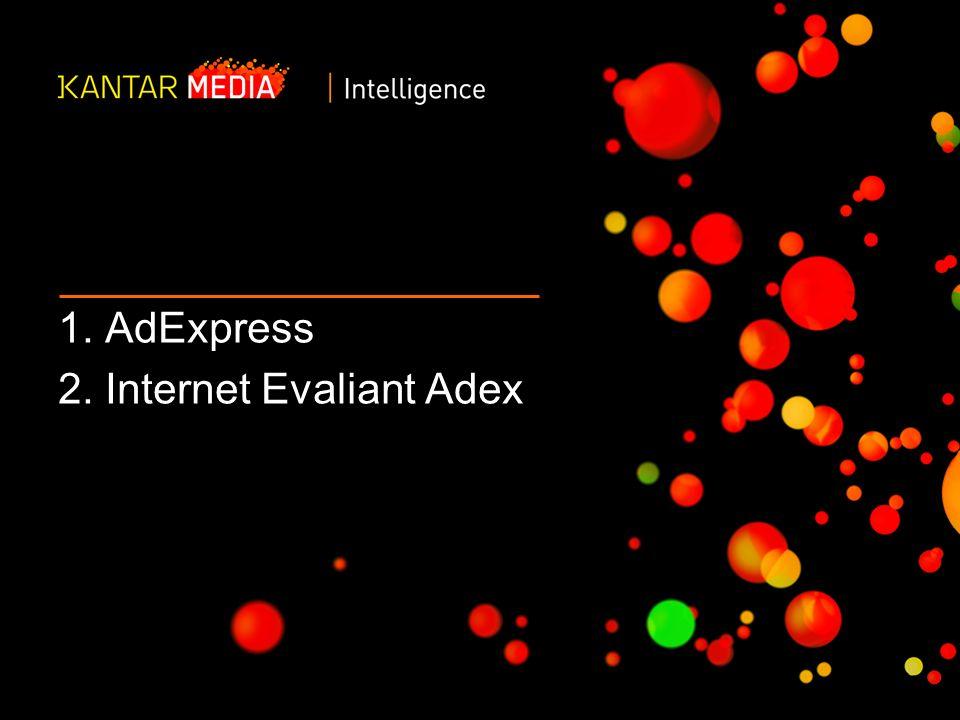 2 OPROGRAMOWANIE ANALITYCZNE AdExpress to nowoczesne narzędzie webowe do prezentacji zagregowanych lub szczegółowych danych o wydatkach reklamowych dowolnych produktów lub wpływów reklamowych dowolnego medium.