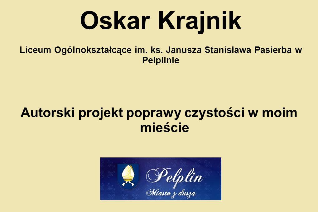 Oskar Krajnik Liceum Ogólnokształcące im.ks.