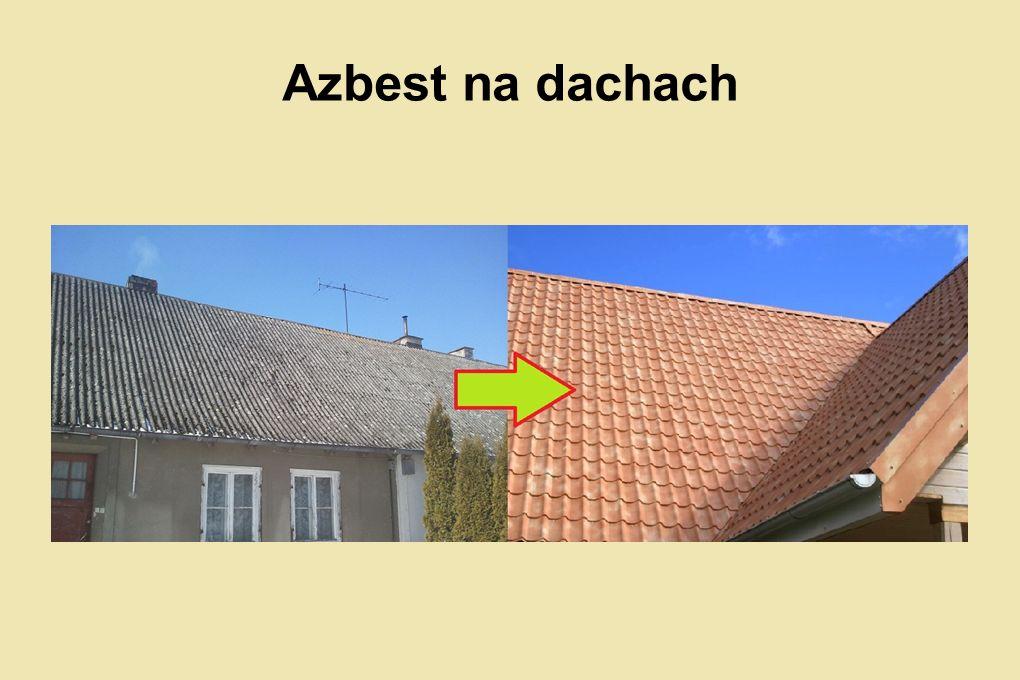 Azbest na dachach