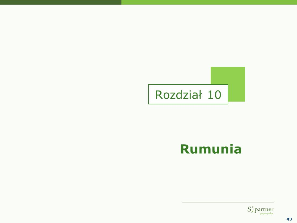 43 Rumunia Rozdział 10