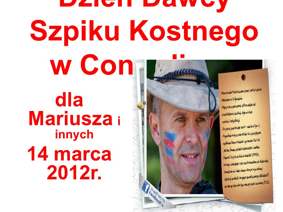 Dzień Dawcy Szpiku Kostnego w Conradinum dla Mariusza i innych 14 marca 2012r.