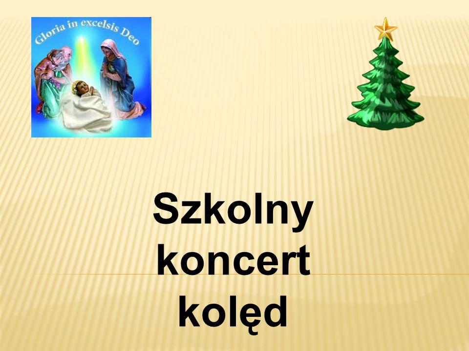 Szkolny koncert kolęd
