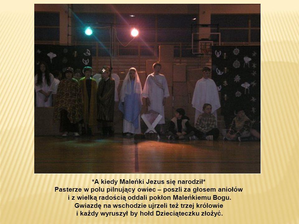 Mali pastuszkowie tańcem uświetnili pamiątkę BOŻEGO NARODZENIA
