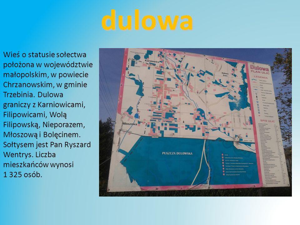Wieś o statusie sołectwa położona w województwie małopolskim, w powiecie Chrzanowskim, w gminie Trzebinia.