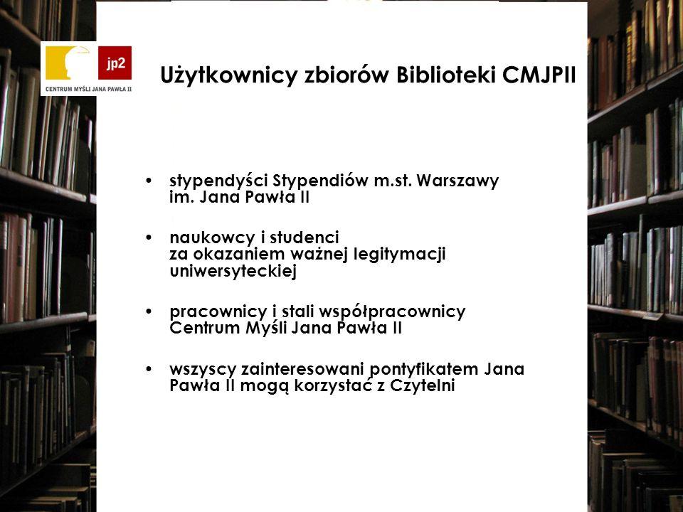 Program SOWA2/MARC21: automatyzacja prac bibliotecznych opracowanie zbiorów w formacie MARC21 udostępnienie on-line zawartości katalogu, korzystanie przez WWW z zawartości katalogu oraz informacji o dostępności poszczególnych egzemplarzy poszukiwanego tytułu zdalny wgląd do własnego konta bibliotecznego rezerwowanie dostępnego egzemplarza, który chcemy wypożyczyć oraz zamawianie egzemplarza wypożyczonego przez innego czytelnika Komputerowy program biblioteczny