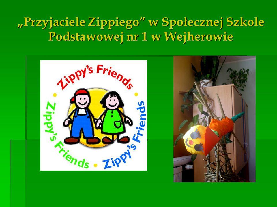 Przyjaciele Zippiego w Społecznej Szkole Podstawowej nr 1 w Wejherowie