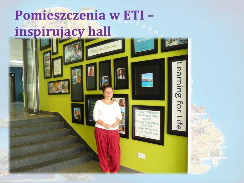 Pomieszczenia w ETI – inspirujący hall