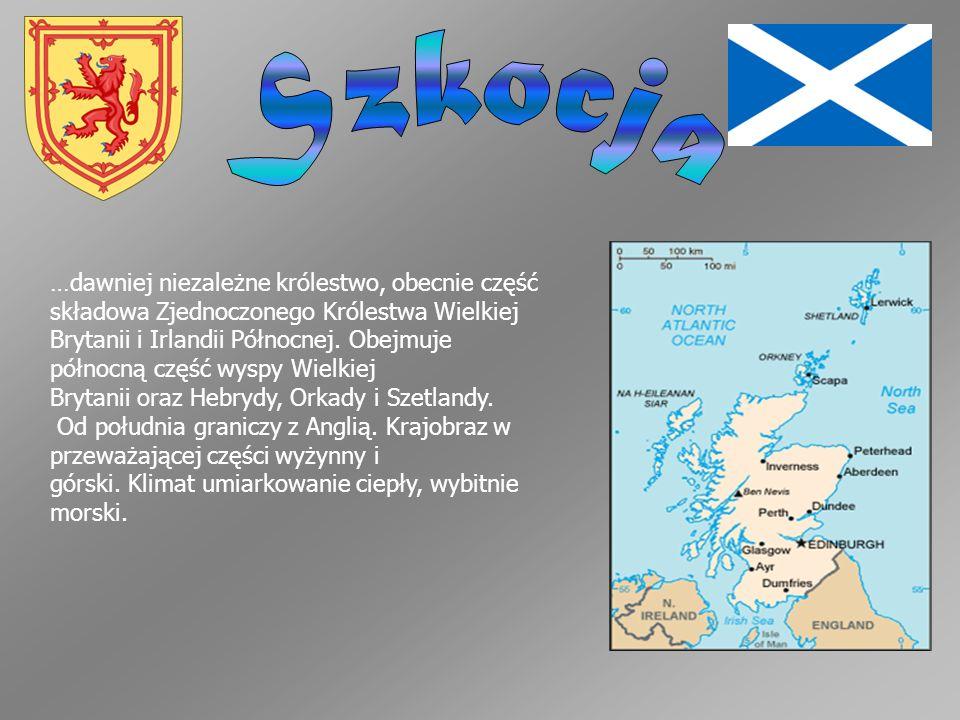 …dawniej niezależne królestwo, obecnie część składowa Zjednoczonego Królestwa Wielkiej Brytanii i Irlandii Północnej. Obejmuje północną część wyspy Wi