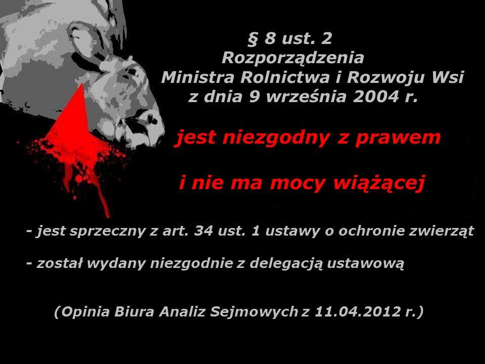 W Polsce ubój bez ogłuszania (ubój rytualny) wykonywany jest z powodów wyłącznie komercyjnych – zysków z eksportu mięsa do krajów muzułmańskich i Izraela Nie ma to żadnego związku z praktykowaniem obyczajów religijnych przez wyznawców islamu lub judaizmu w Polsce.