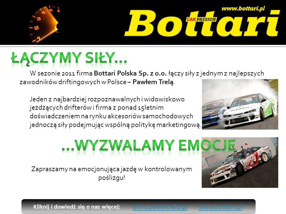 W sezonie 2011 firma Bottari Polska Sp. z o.o.