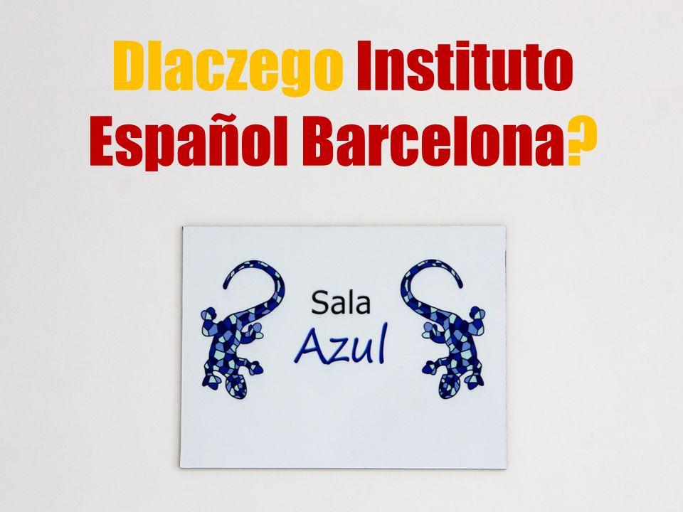 Dlaczego Instituto Español Barcelona?