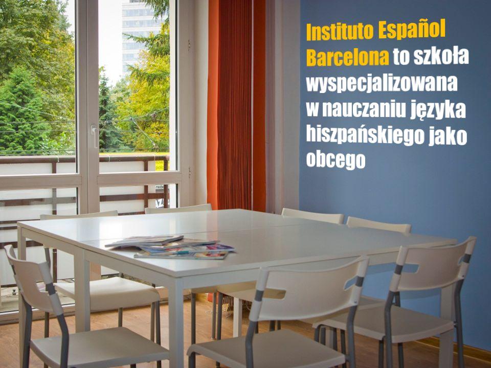Instituto Español Barcelona tworzy grupa młodych, rodowitych lektorów, przygotowanych merytorycznie i metodycznie oraz posiadających doświadczenie w nauczaniu języka hiszpańskiego w Polsce