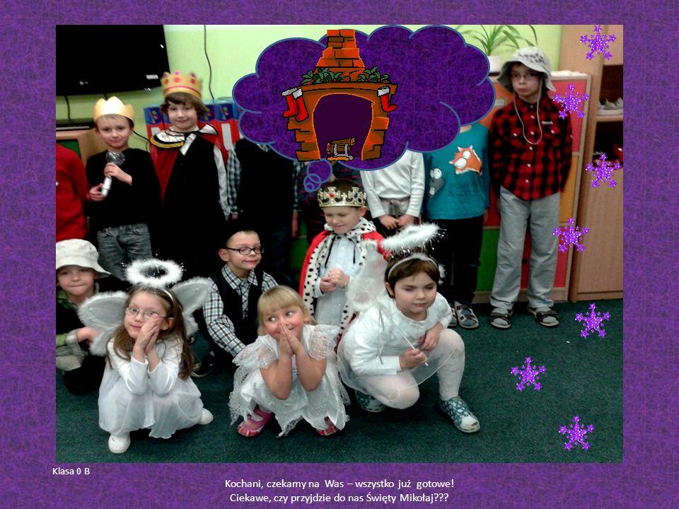 W ostatnim tygodniu przed świętami Bożego Narodzenia dzieci zaprosiły swoich najbliższych na wigilię klasową.