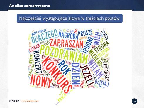 13 Analiza semantyczna SOTRENDER| www.sotrender.com