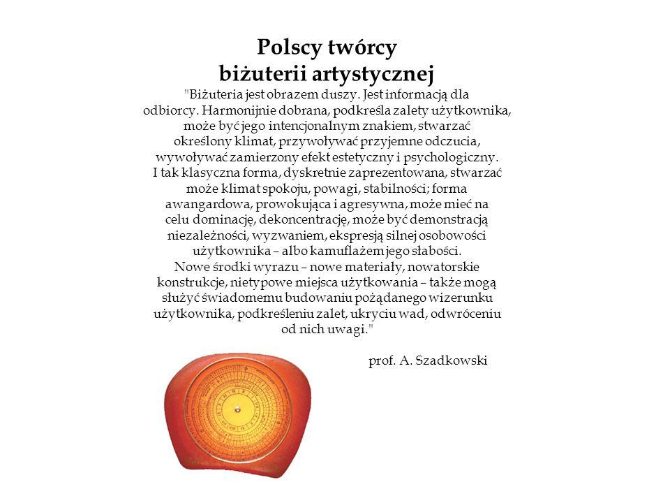 Polscy twórcy biżuterii artystycznej