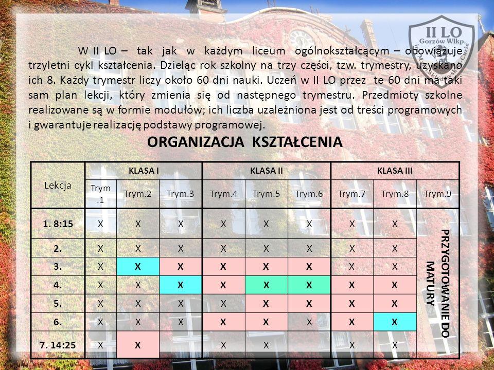 System dydaktyczny Liceum Skłodowskiej posiada szereg atutów.