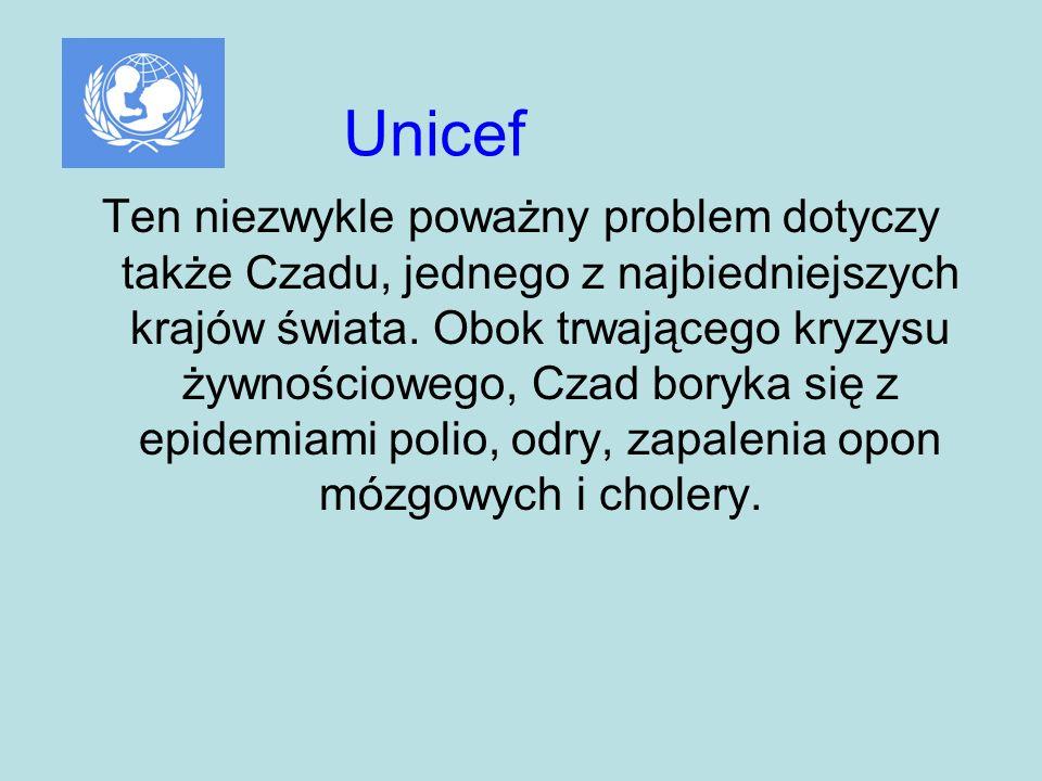 Ten niezwykle poważny problem dotyczy także Czadu, jednego z najbiedniejszych krajów świata.