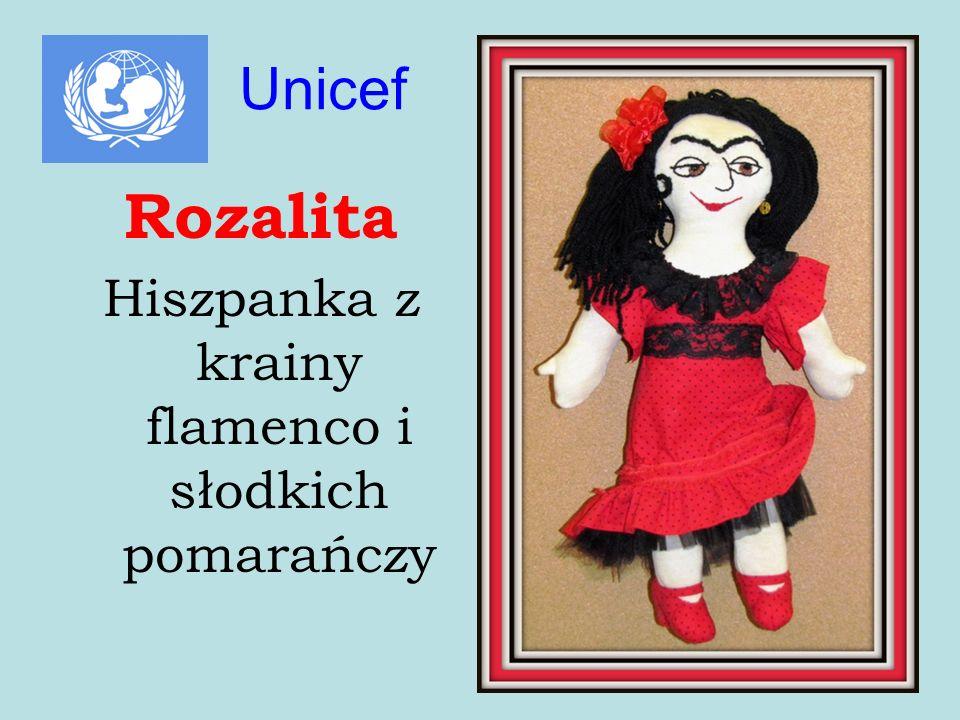 Rozalita Hiszpanka z krainy flamenco i słodkich pomarańczy