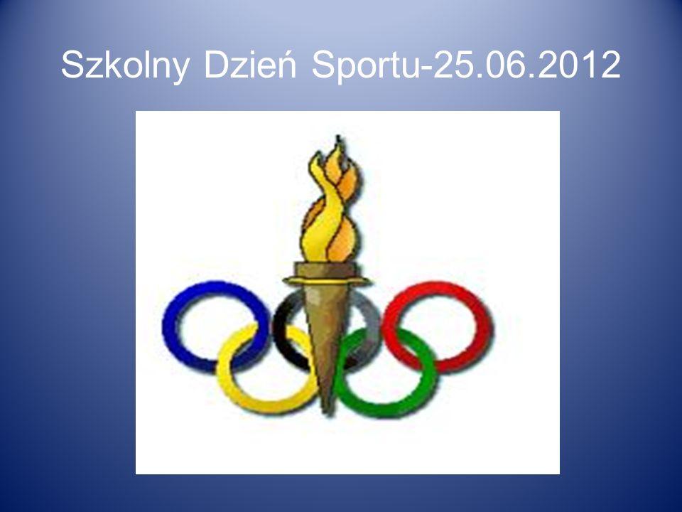 Szkolny Dzień Sportu-25.06.2012