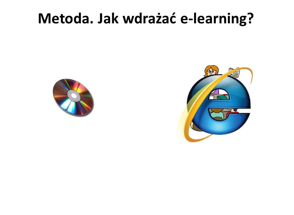 Metoda. Jak wdrażać e-learning?