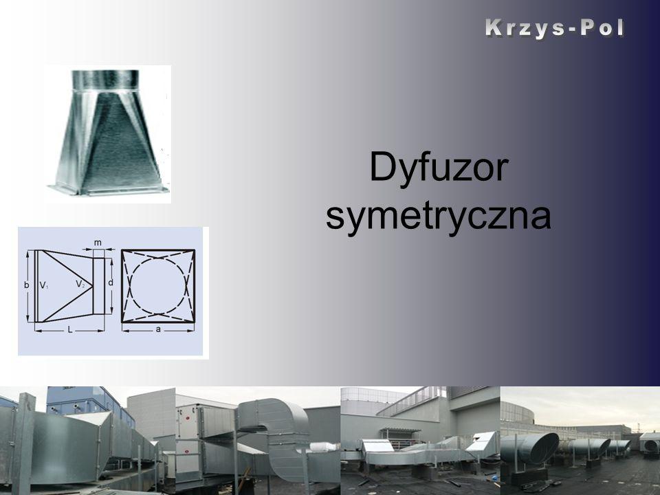 Dyfuzor symetryczna