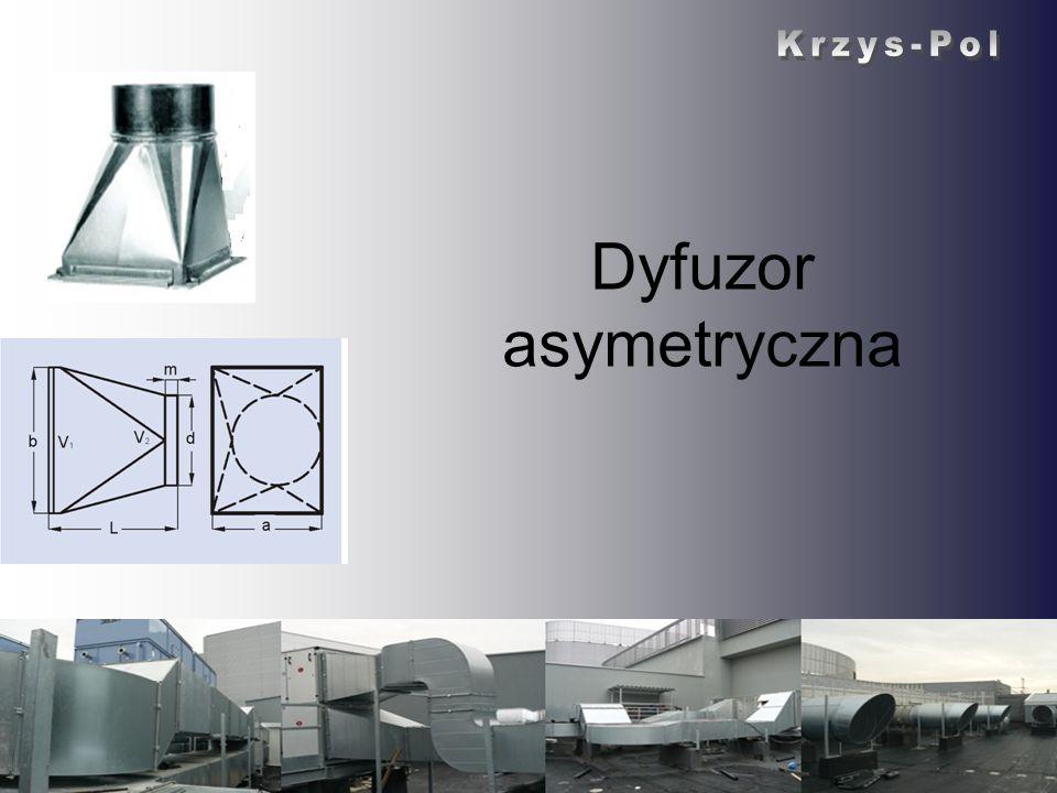 Dyfuzor asymetryczna