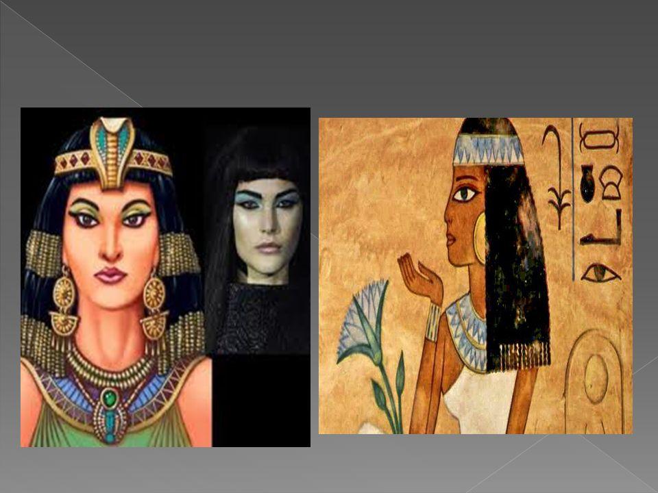 Dla Egipcjan bardzo ważne były ozdoby głowy i szyi.