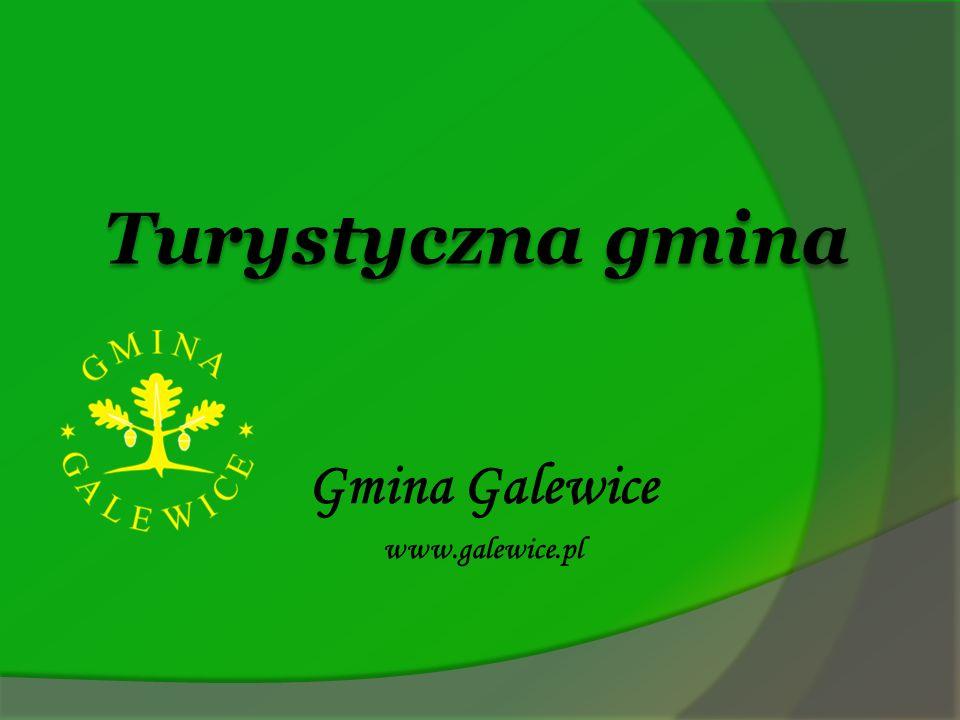 Turystyczna gmina Mapa Gminy Galewice
