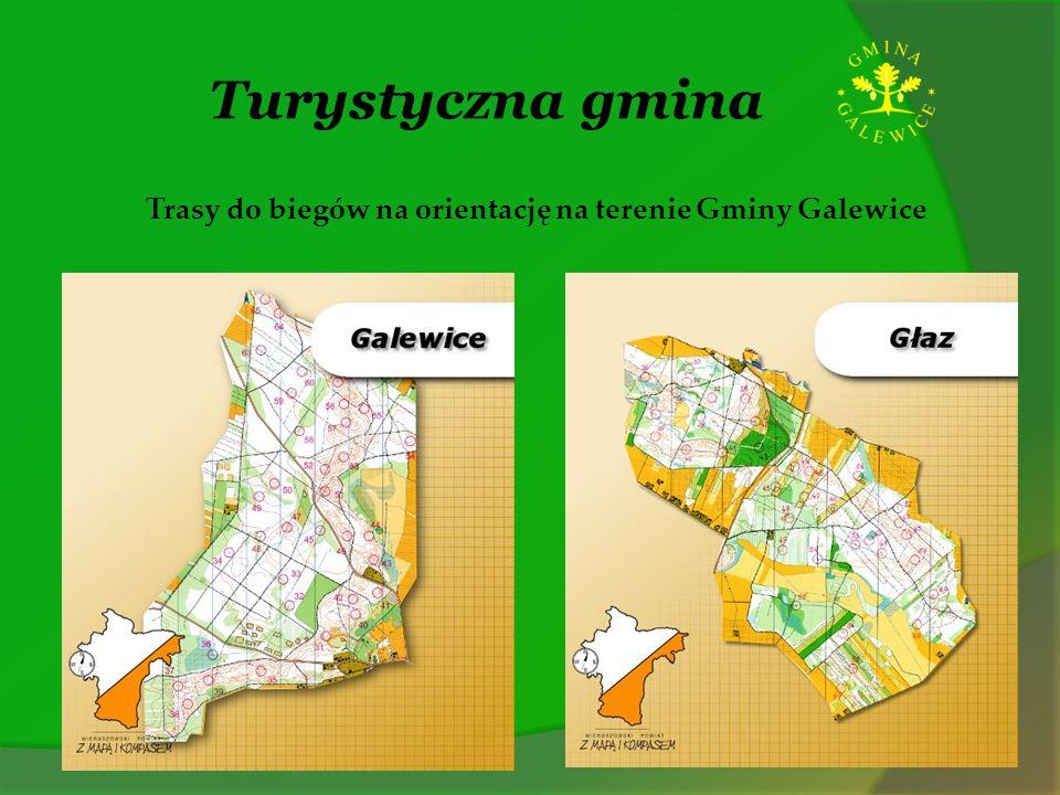 Turystyczna gmina Trasy do biegów na orientację na terenie Gminy Galewice