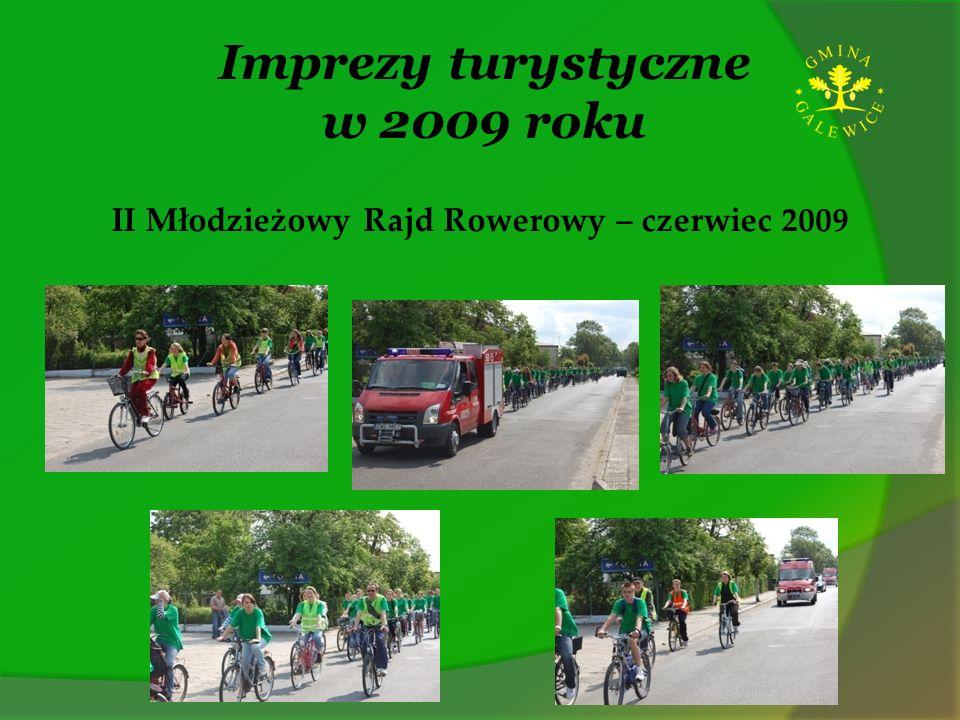 Imprezy turystyczne w 2009 roku II Młodzieżowy Rajd Rowerowy – czerwiec 2009