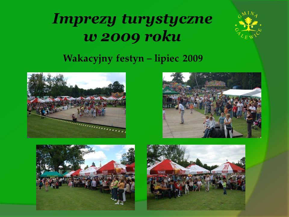 Imprezy turystyczne w 2009 roku Wakacyjny festyn – lipiec 2009