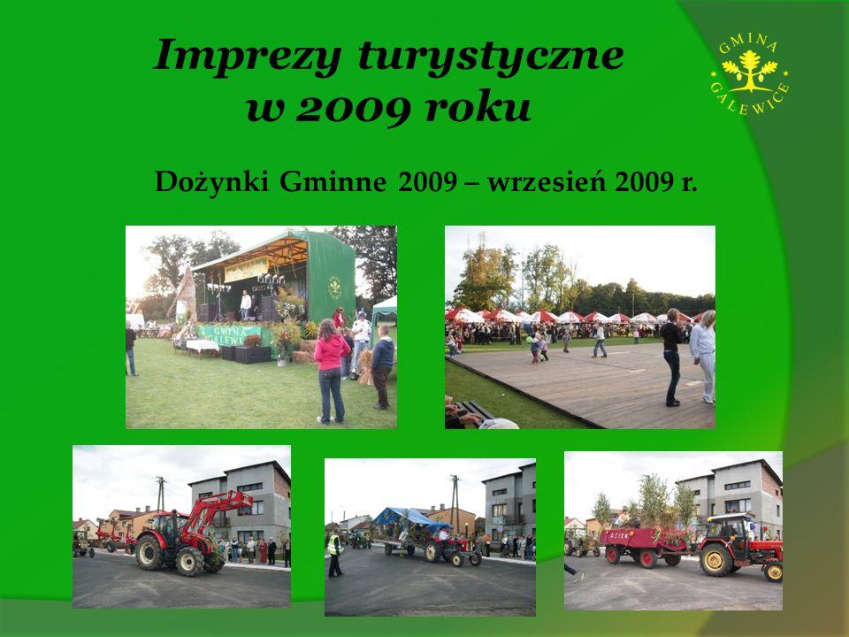Imprezy turystyczne w 2009 roku Dożynki Gminne 2009 – wrzesień 2009 r.