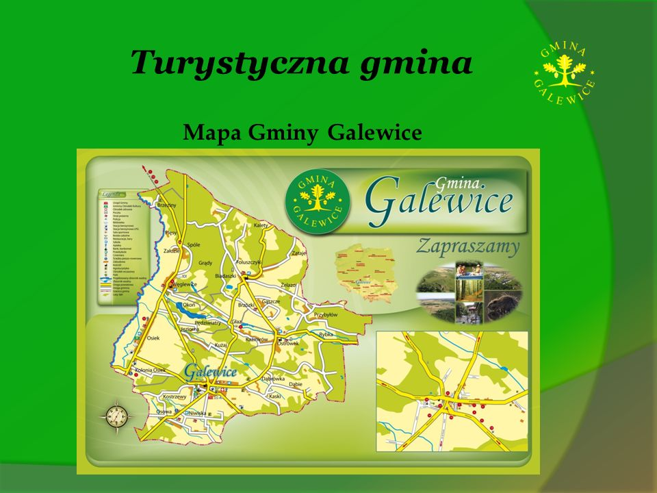 Turystyczna gmina Gmina Galewice położona jest w południowo - zachodniej części województwa łódzkiego w powiecie wieruszowskim, Powierzchnia gminy wynosi 13 579 ha i jest największą obszarowo gminą w powiecie.