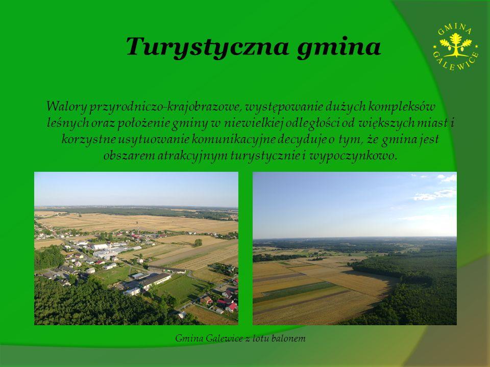 Turystyczna gmina Walory przyrodniczo-krajobrazowe, występowanie dużych kompleksów leśnych oraz położenie gminy w niewielkiej odległości od większych