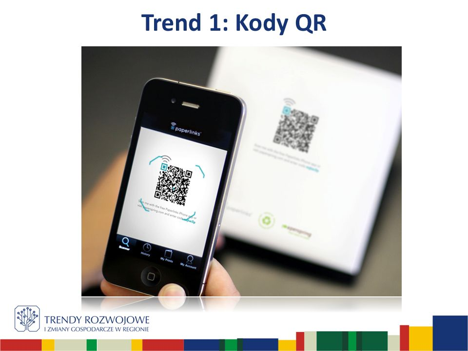 Trend 1: Kody QR